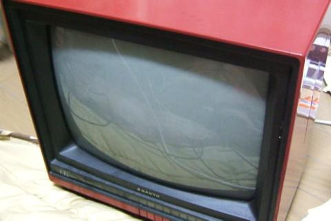 テレビのスイッチの交換