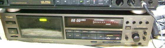 カセットデッキV-870のベルト交換