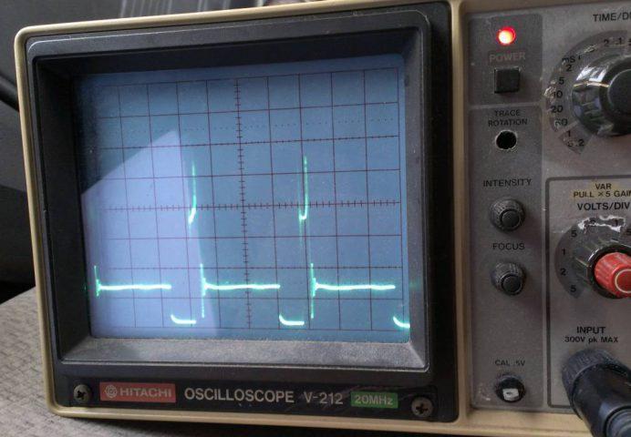 イグニッションコイルの波形を観測する
